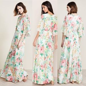 Yumi Kim Dresses - Anthropologie floral maxi small